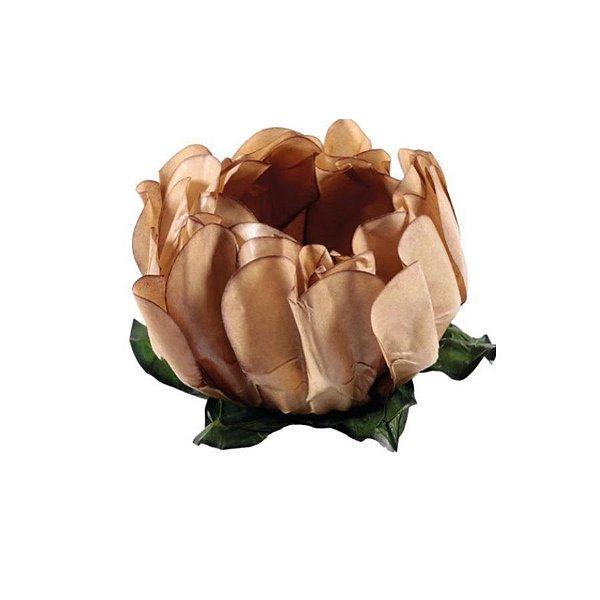 Forminha para Doces Finos - Rosa Maior Areia - 40 unidades - Decora Doces - Rizzo