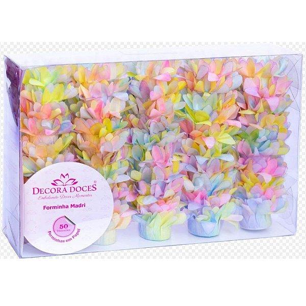 Forminha para Doces Finos - Madri Tie Dye Candy - 50 unidades - Decora Doces - Rizzo