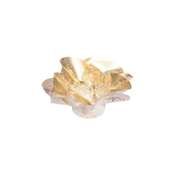 Forminha para Doces Finos - Copo de Leite Dourado  30 unidades - Decora Doces - Rizzo
