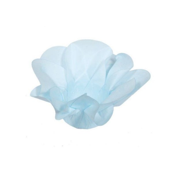 Forminha para Doces Finos - Copo de Leite Azul Bebê 30 unidades - Decora Doces - Rizzo