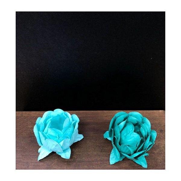 Forminha para Doces Finos - Bela Duo Tiffany e Verde Militar - 20 unidades - Decora Doces - Rizzo