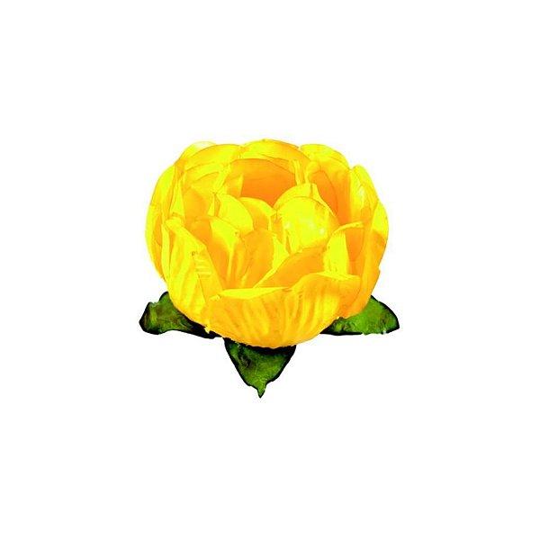 Forminha para Doces Finos - Bela Amarelo Vivo 40 unidades - Decora Doces - Rizzo