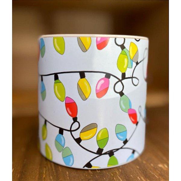Tira Decorativa Luzinhas de Natal - Tam M - 5 unidades - Rizzo Confeitaria