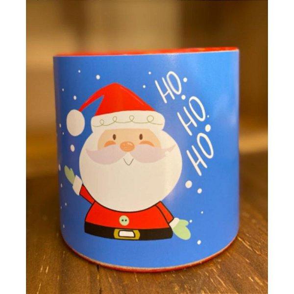 Tira Decorativa Natal Azul Noel Hohoho - Tam M - 5 unidades - Rizzo Confeitaria