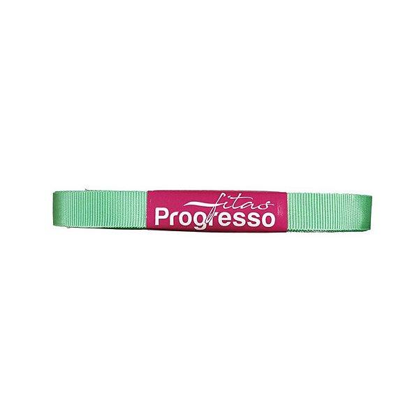 Fita Gorgurão Progresso 11mm nº2 - 10m Cor 232 Verde Menta - 01 unidade