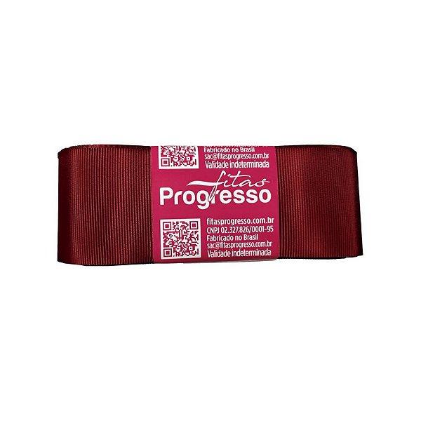 Fita Gorgurão Progresso 38mm nº9 - 10m Cor 389 Vinho - 01 unidade