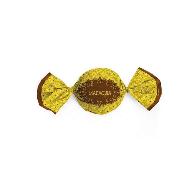 Papel Trufa 14,5x15,5cm - Gostosura Maracuja - 100 unidades - Cromus - Rizzo