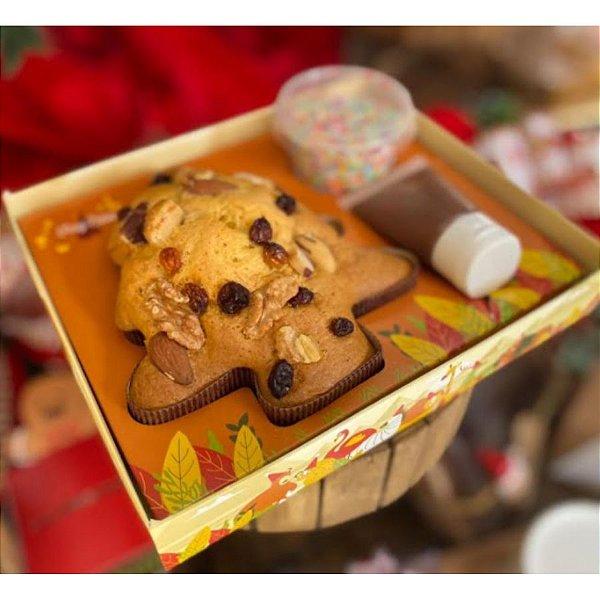Caixa Kit Mini Confeiteiro de Natal - 1un - Rizzo Confeitaria