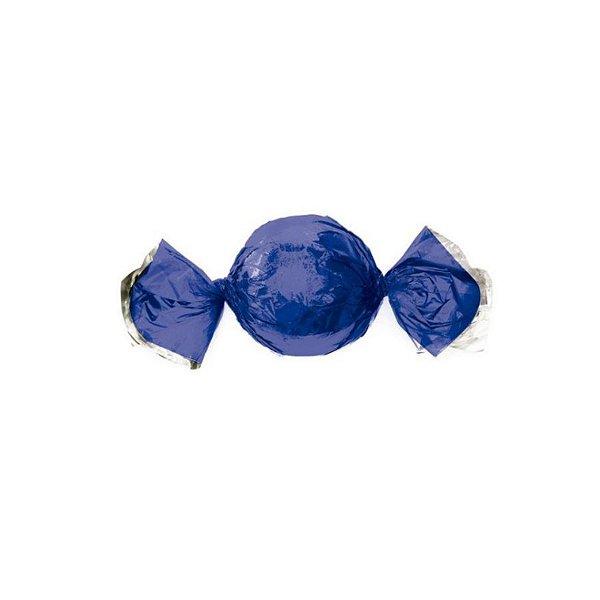 Papel Trufa 14,5x15,5cm - Metalizado Azul - 100 unidades - Cromus - Rizzo