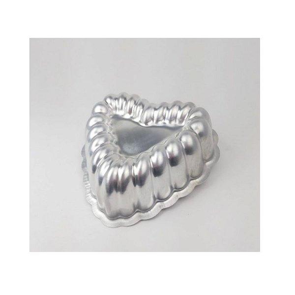 Forma Ballerine Coração Decor. 22,5x6,7 cm Caparroz Rizzo Confeitaria