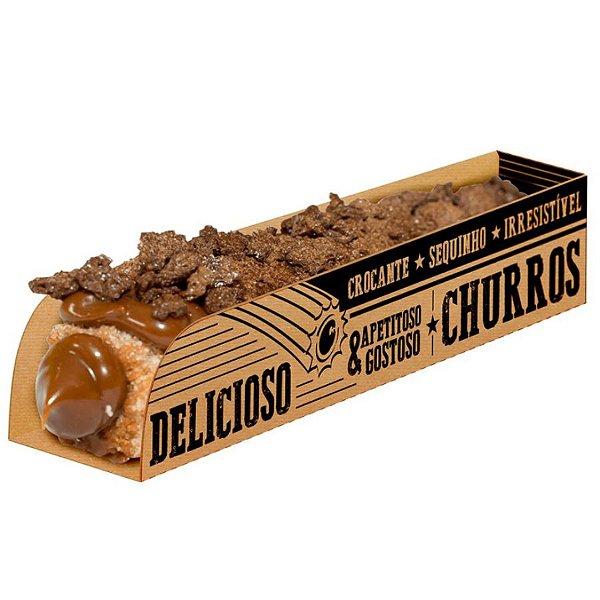 Caixa para Churros Kraft - 50 unidades - Food Service Fest Color - Rizzo Confeitaria