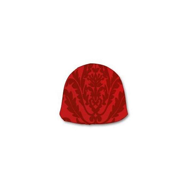 Papel Chumbo 10x9,7cm - Adamascado Vermelho - 300 folhas - Cromus