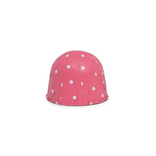 Papel Chumbo 10x9,8cm - Poá Pink - 300 folhas - Cromus