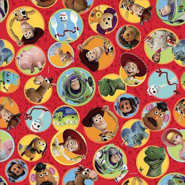 Folha para Ovos de Páscoa Toy Story 69x89cm - 05 unidades - Páscoa Cromus - Rizzo