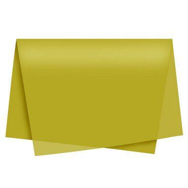 Papel de Seda - 48x60cm - Ouro - 10 folhas - Rizzo