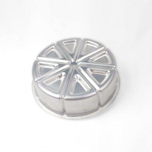Forma Torta Ballerine em Alumínio 18cmx5cm - Caparroz - Rizzo Confeitaria