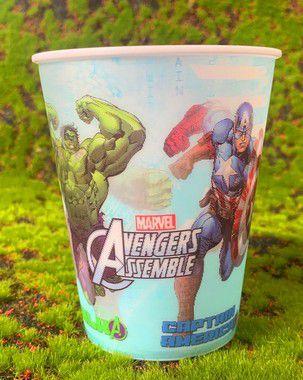 Copo de Plástico 3D 350 Ml Festa Vingadores - 1 Unidade - Regina - Rizzo Festas