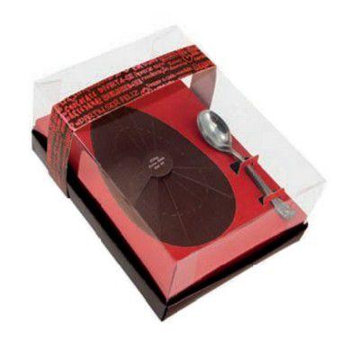 Caixa Ovo de Colher de 350g - Classic Marsala Cód 1419 - 05 unidades - Ideia Embalagens - Rizzo