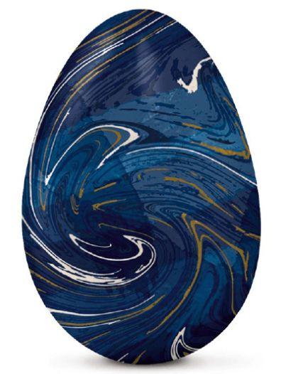 Papel Chumbo 43,5x58,5cm - Marmorizado Azul - 5 folhas - Cromus - Rizzo