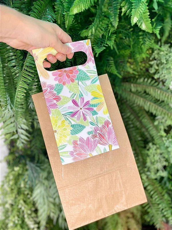 Alça Decorativa Floral - 12,8x51cm - 05 unidades - Rizzo