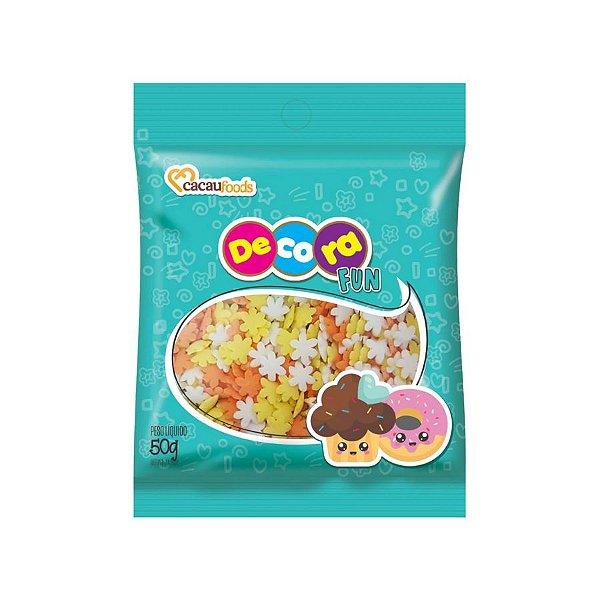 Decora Fun Confeitos Summer - Cacau Foods - 50g - Rizzo Confeitaria