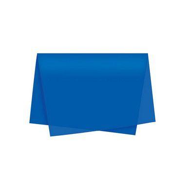 Papel de Seda - 50x70cm - Azul Escuro - 10 folhas - Riacho - Rizzo