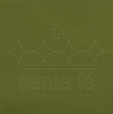 Feltro Liso 1 X 1,4 mt cm - Verde Mate 005 - Santa Fé - Rizzo Embalagens