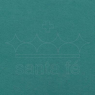 Feltro Liso 1 X 1,4 mt cm - Verde Buzios 029 - Santa Fé - Rizzo Embalagens