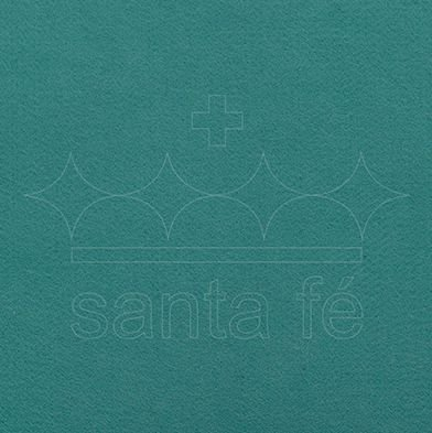 Feltro Liso 30 X 70 cm - Verde Buzios 029 - Santa Fé - Rizzo Embalagens
