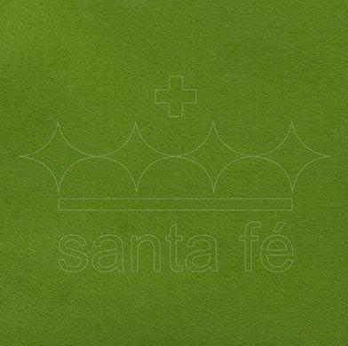 Feltro Liso 30 X 70 cm - Verde Musgo Claro 006 - Santa Fé - Rizzo