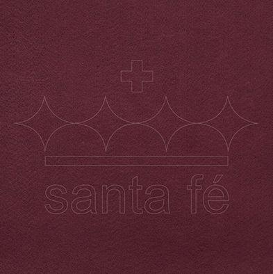 Feltro Liso 30 X 70 cm - Vinho 020 - Santa Fé - Rizzo Embalagens