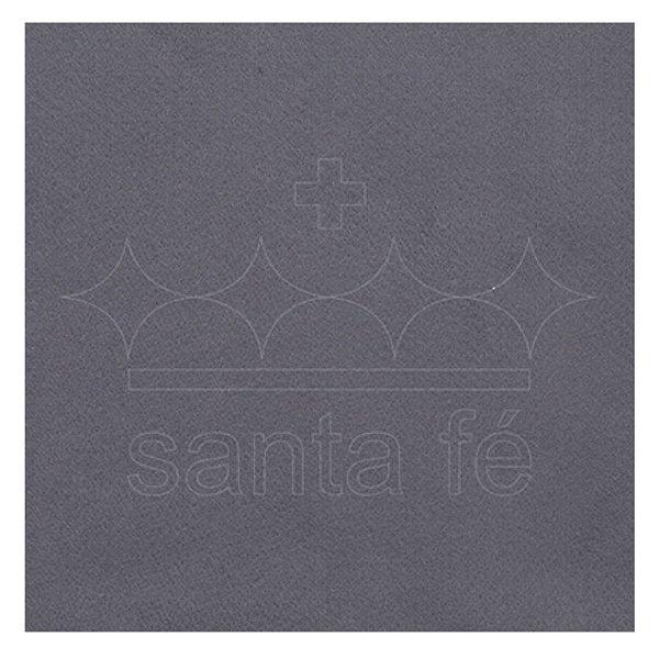 Feltro Liso 30 X 70 cm - Cinza Escuro 038 - Santa Fé - Rizzo