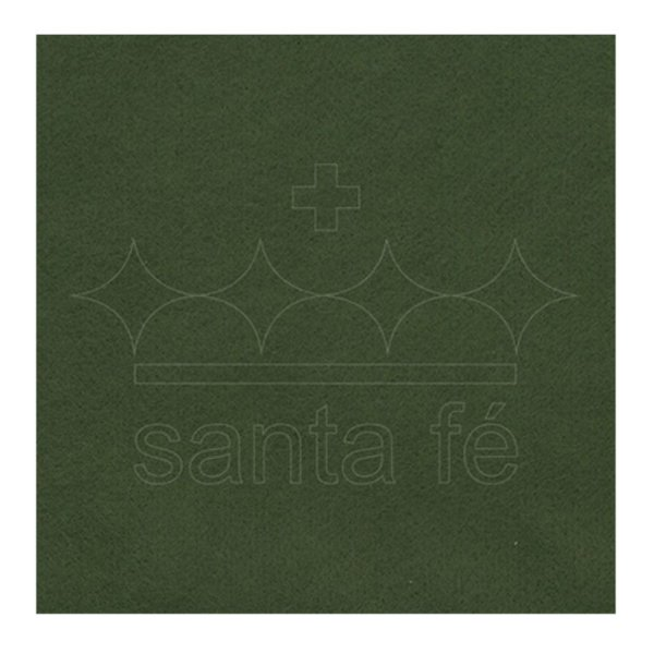 Feltro Liso 30 X 70 cm - Verde Oliva 052 - Santa Fé - Rizzo