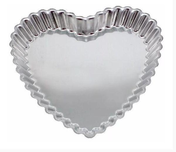 Forma Coração Crespo 20x20x3cm - 01 unidade - Rizzo Confeitaria