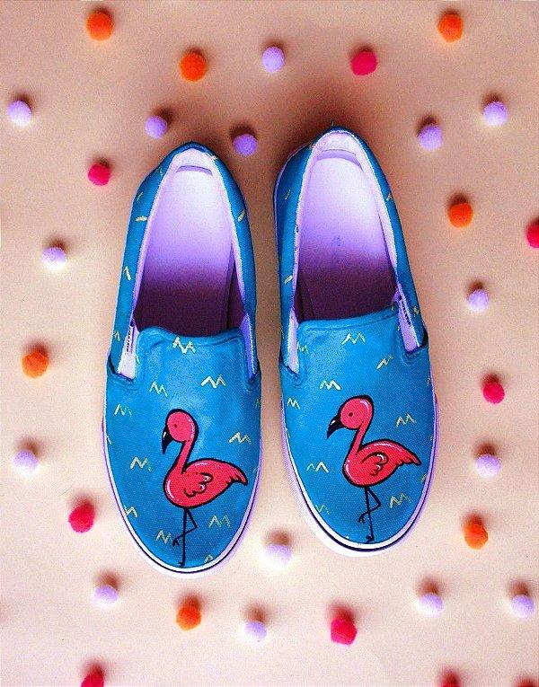Tênis Sugoi Flamingo Yatch Slip On