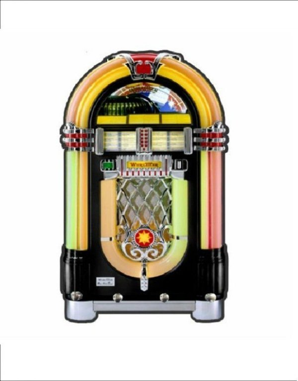 Porta Chaves Jukebox Retrô 50s