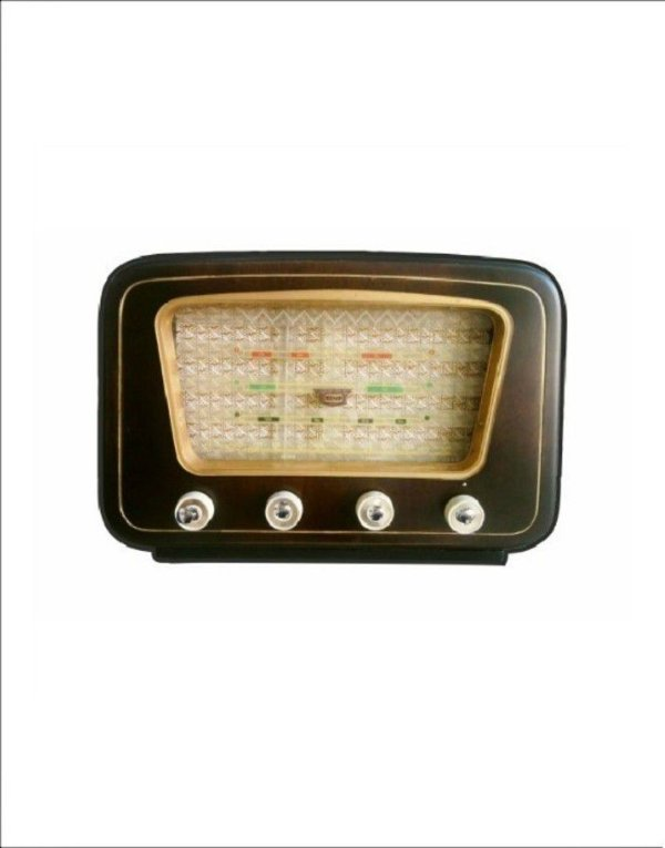 Porta Chaves Rádio Antigo Retrô