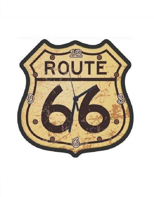 Relógio de Parede - Route 66