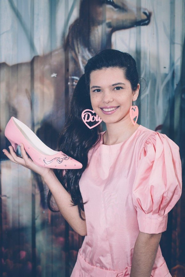 Sapato Scarpin Baixo Retrô Look Noiva Britanic Artesanal Sugoi