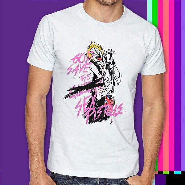 Camiseta Rock n Roll Sex Pistols Punk Rock Statika