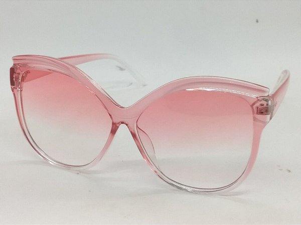 Óculos Retrô Degradê Rosa Tootsie 70s 80s