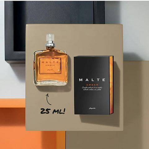Colônia Desodorante Masculina Malte Amber JEQUITI 25 ml Pequeno