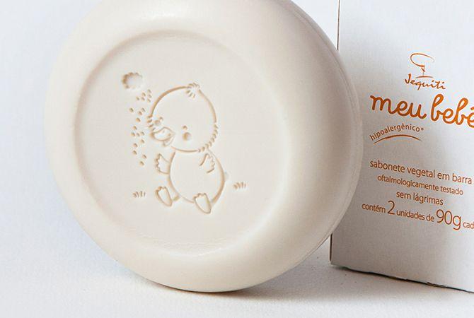 Sabonete em Barra Meu Bebê Jequiti - contém 2 unidades