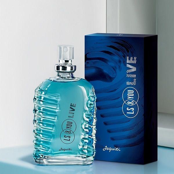 Mini Perfume Colônia Masculina Ls&you Live - 25 Ml Jequiti