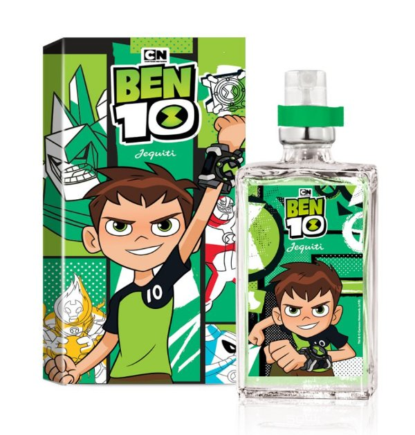 Ben 10 Perfume Colônia Masculina Infantil Jequiti - 25 Ml