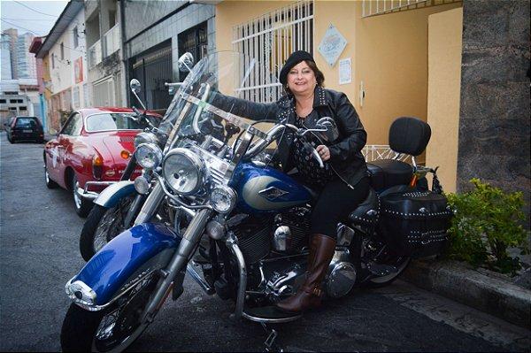 Aluguel de Moto Harley Davidson Softail Heritage Classic Retrô Vintage Fotos Vídeos