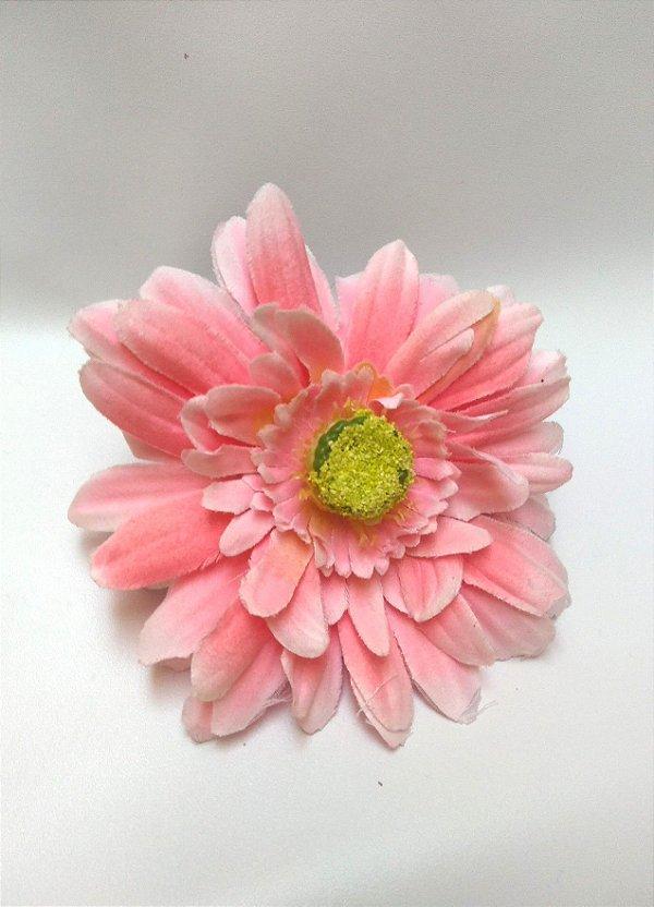 Flor de Cabelo Gérbera Grande Pin Up Retrô Vintage Style