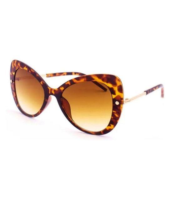 Óculos Escuros Gatão Anos 70 de Oncinha Degradê