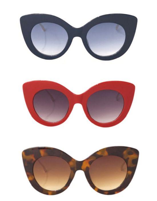 Óculos Escuros Gatão Moderno Pin Up Retrô 50 60