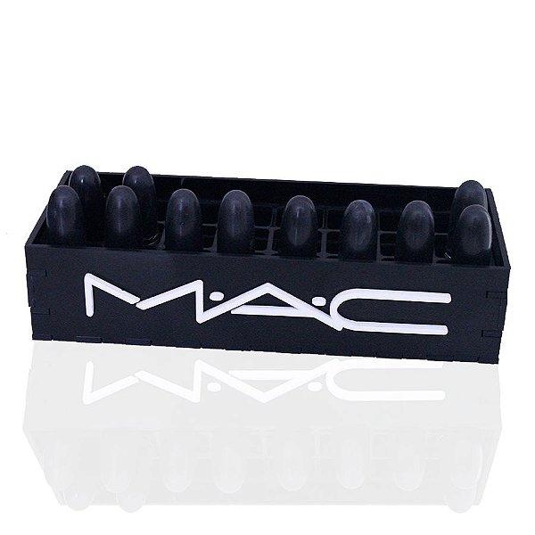 Porta Batons Mac em Acrílico Brilho